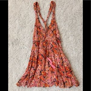 Free People Dresses - NWT Washed Away Mini Dress